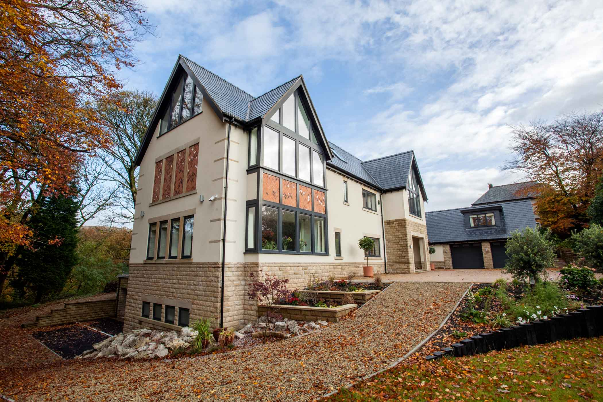 High end, 4 floor new build. Bolton.